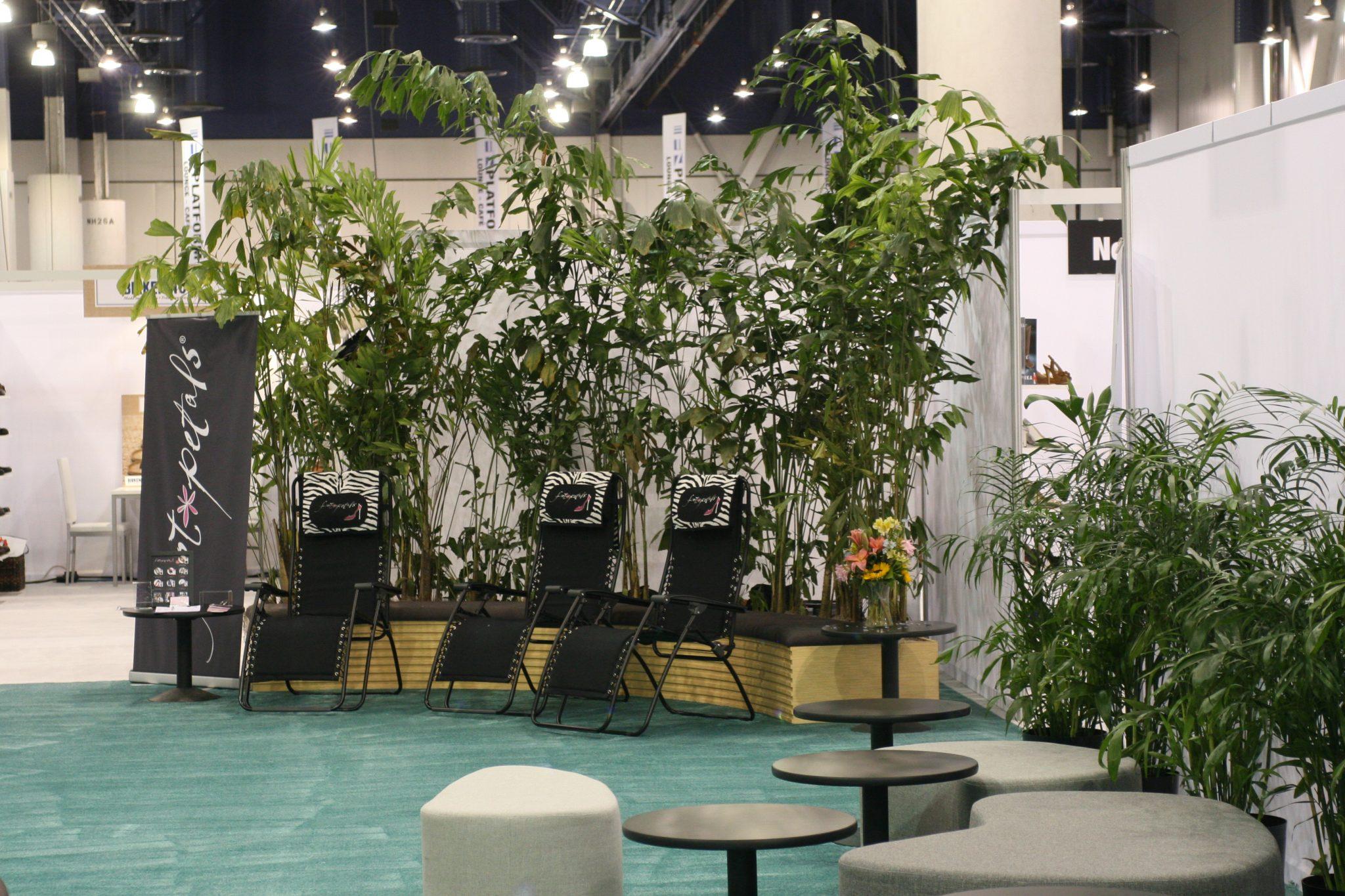 Plant wall for las vegas conferences.