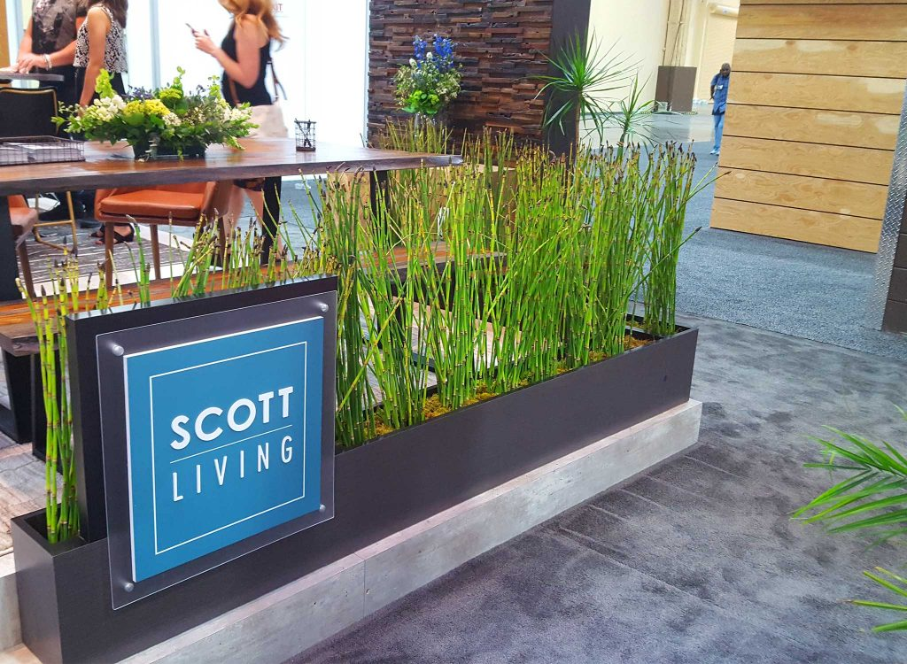 Event flowers for Scott Living.